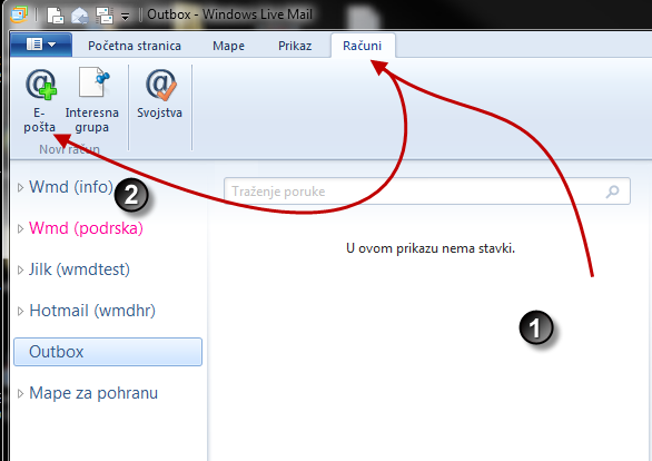 Windows Live Mail.
