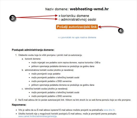 administracija domena