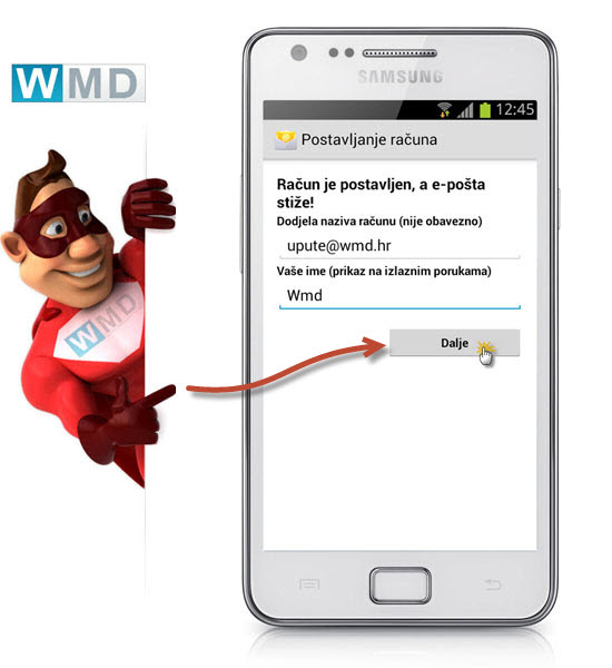 Android upute