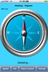 Kompas za iPhone