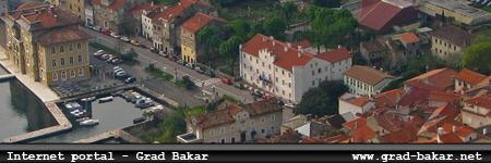 Internet portal - grad Bakar