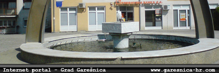 Internet portal - grad Garešnica