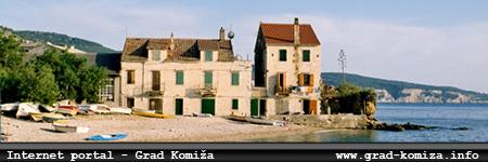 Internet portal - grad Komiža