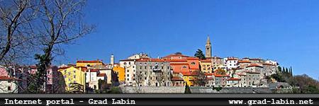Internet portal - grad Labin