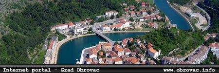 Internet portal - grad Obrovac