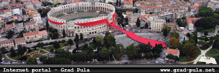 Internet portal - grad Pula