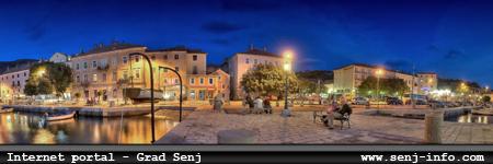 Internet portal - grad Senj