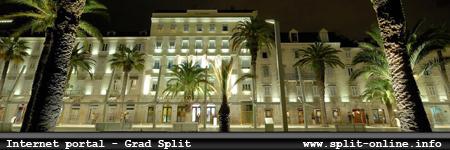 Internet portal - grad Split