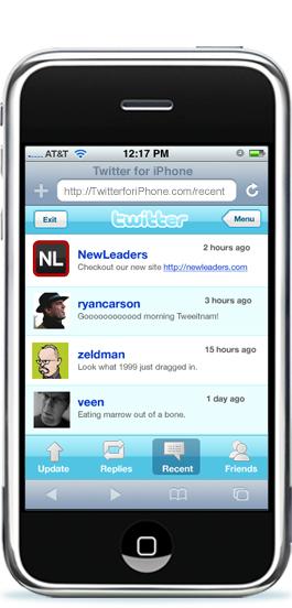 Twitter za iPhone