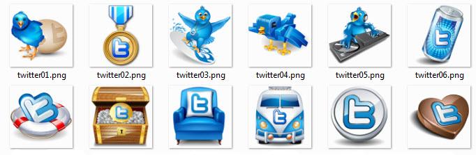 Twitter ikone