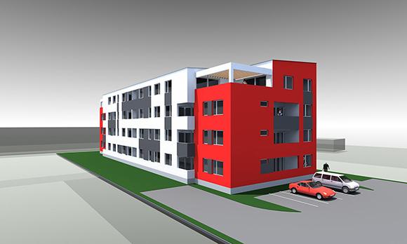 Izgradnja i opremanje stanova, Gradnja poslovnih i stambenih objekata u Bjelovaru, Prodaja stanova Bjelovar