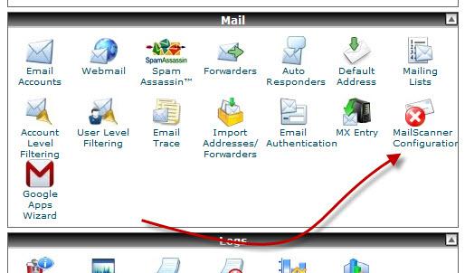 MailScanner Configuration