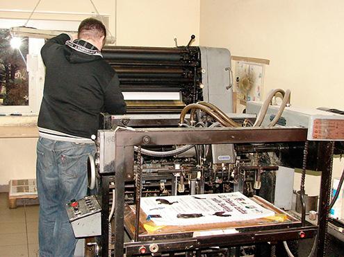 Grafičke usluge, offset tisak, tvrdi uvez, meki uvez, strojno šivanje knjiga