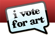 I Vote For Art