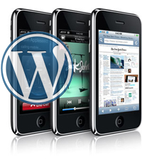 WordPress za iPhone